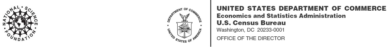 NSF and Commerce Logos