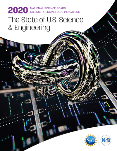 The State of U.S. Science and Engineering 2020 cover image.